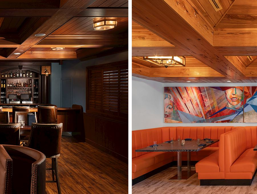 The K Club Bar & Bistro of The karol Hotel Clearwater