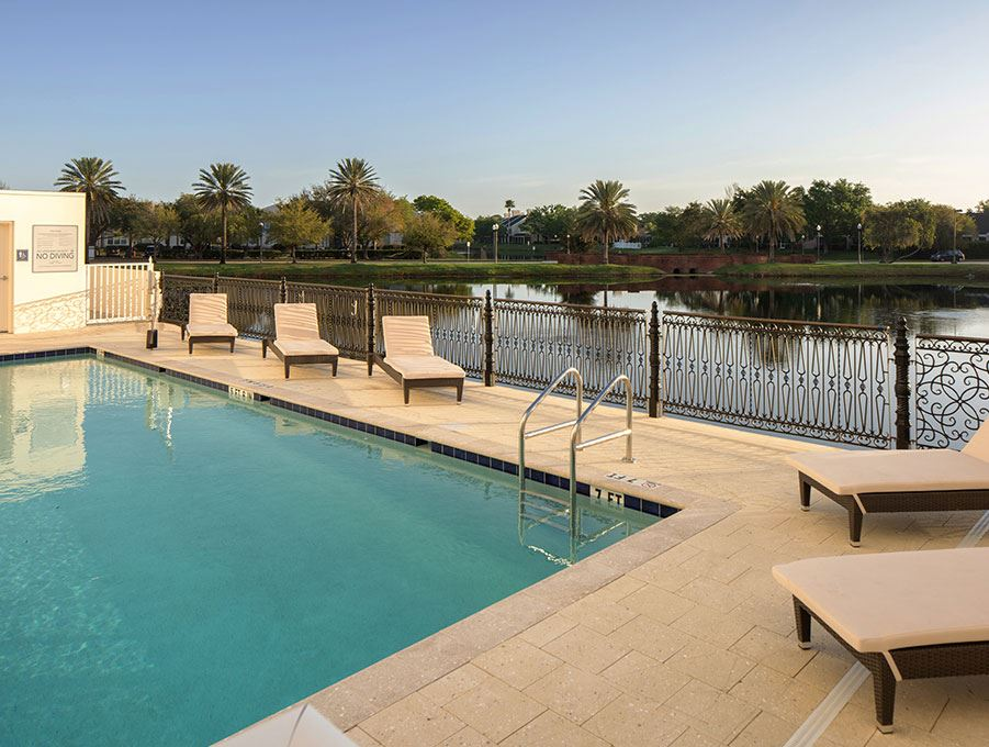 Pool of The karol Hotel, Clearwater